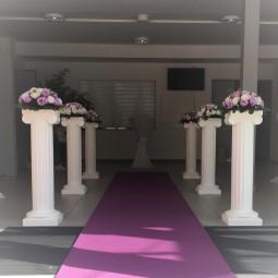 Dekosäule, Blumensäule, Hochzeit