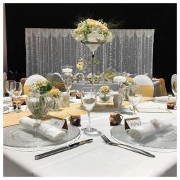 Glasvasen mieten, Glasvasen Hochzeit