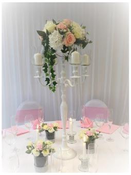 Kerzenständer, Kerzenständer mieten, Hochzeit